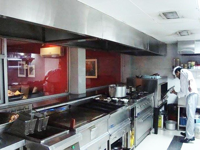 Complete Commercial Kitchen with Steel Work by Us