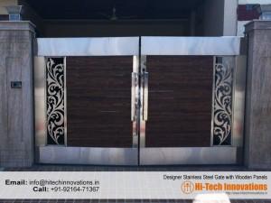 Designer Steel Gate 327-2017A