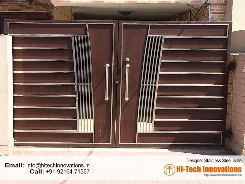 Home Design Gate Ideas: Stainless Steel Gates Manufacturer In Chandigarh, Mohali