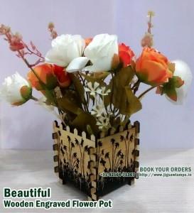 Flower Pot Wooden