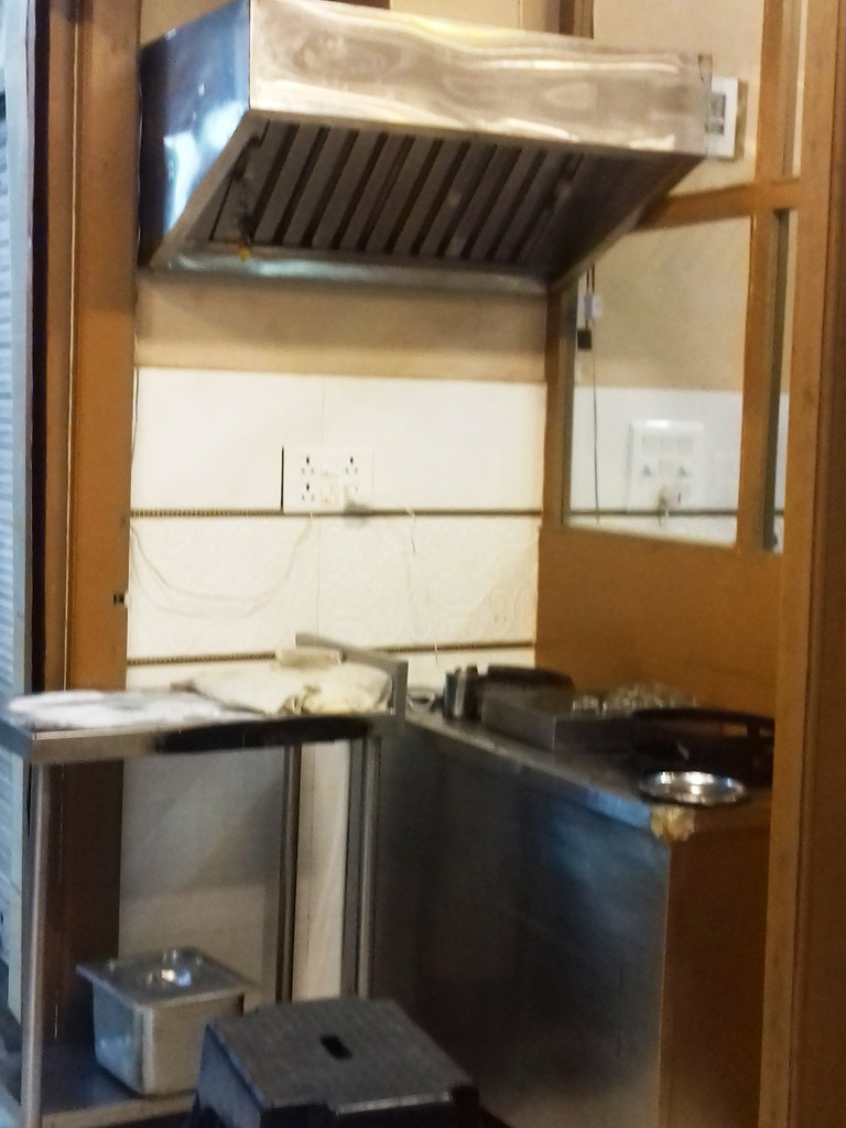 Fume Exhaust Tandoor and Trolley at Commercial Kitchen of Katani Chandigarh