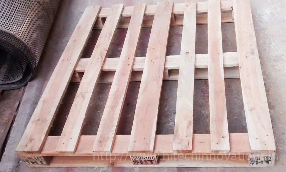 Heat Treated Wooden Pallet View 2