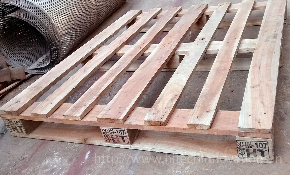 Heat Treated Wooden Pallet View 1