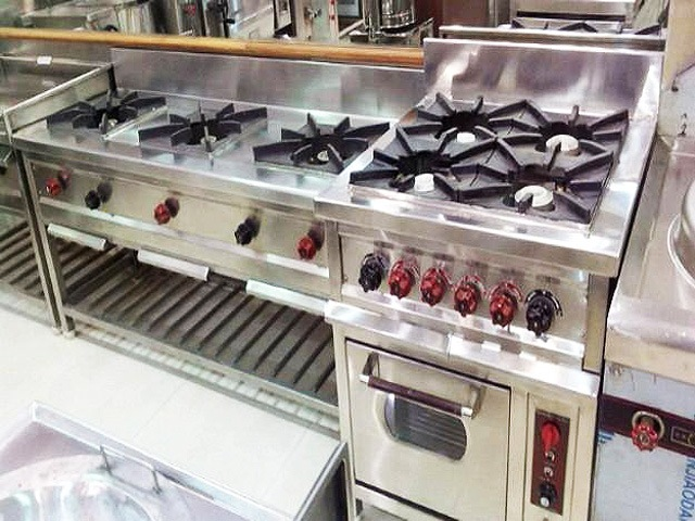 Multiple Burners Ready For Delivery