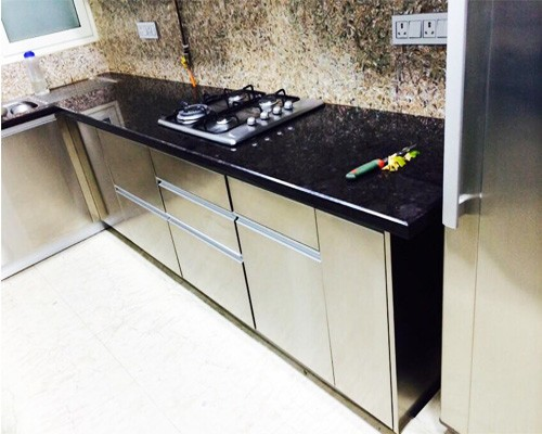 Steel Cabinets for Residential Modular Kitchen