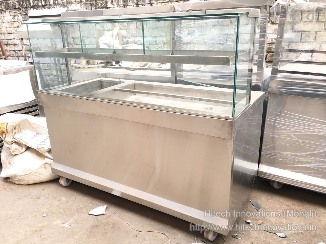 Pani Puri Counter for Commercial Kitchen at our Factory