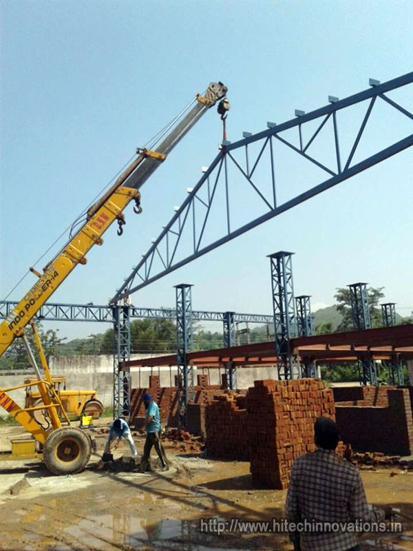 Prefabricated Industrial Shed Truss