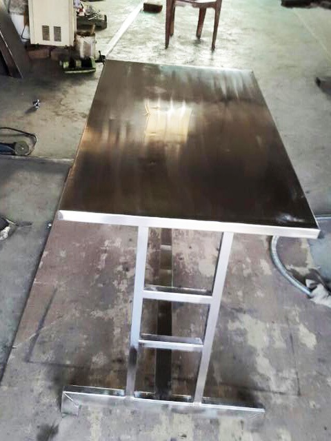 Steel Work Table