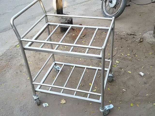 Trolley ready for Delivery