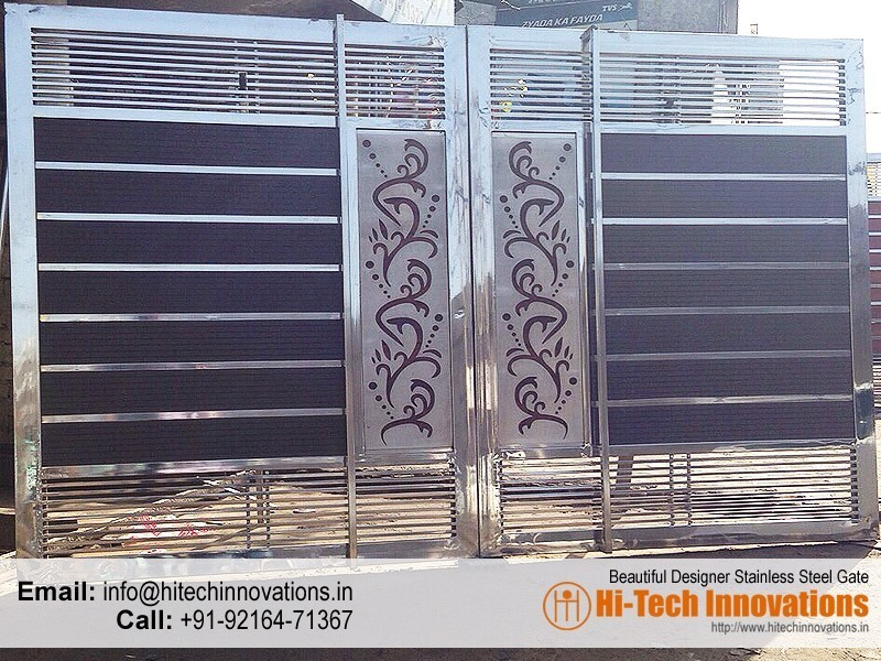 Stainless Steel Gates Manufacturer in Chandigarh, Mohali, Ludhiana on front gate designs for homes, steel fencing for homes, wood gate designs for homes, steel window design philippines, stainless steel homes, steel gates and fences, side gate designs for homes, steel gates for houses, modern gate designs for homes, main gate designs for homes, steel gates product, steel fence for homes, iron gates for homes, steel door design, security gates for homes, steel fence philippines, steel type, steel swing gates, steel entrance gates, arts and crafts homes,