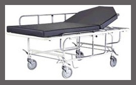 Stretcher Trolley With Side Walls