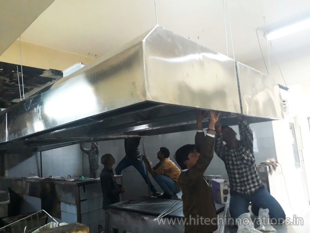 Installing Commercial Kitchen Exhaust 003