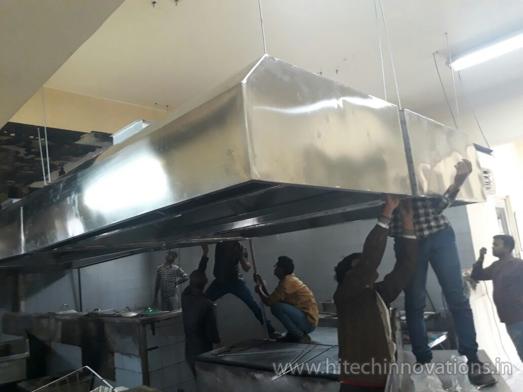 Installing Commercial Kitchen Exhaust 004