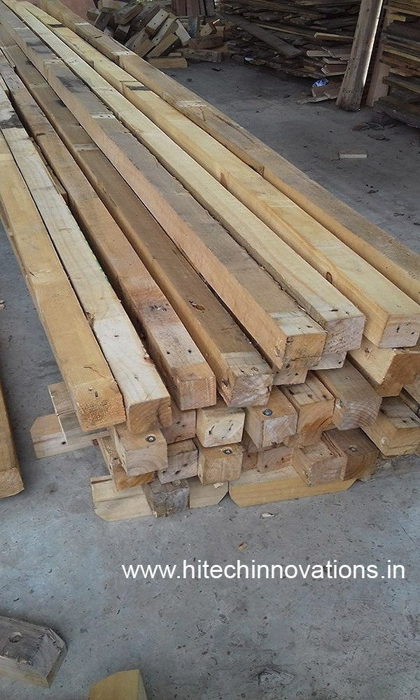 Logs used for manufacturing world class Wooden Pallets