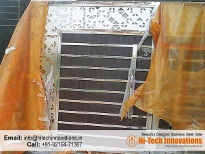 New Stainless Steel Gate- 012FL in Packing