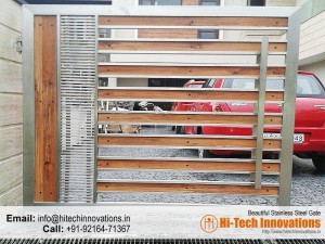 Stainless Steel Gate – HT-SSG-005