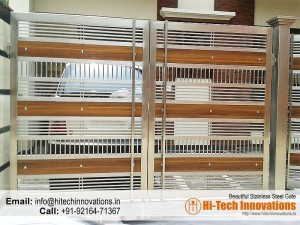 Stainless Steel Gate – HT-SSG-007