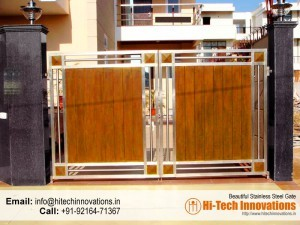 Stainless Steel Gate – HT-SSG-009