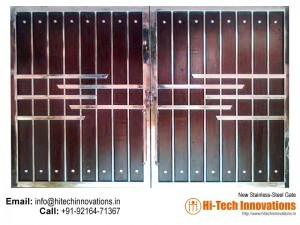 Stainless Steel Gate – HT-SSG-008