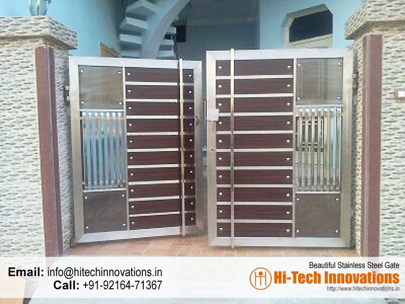 Stainless steel gates manufacturer in chandigarh mohali