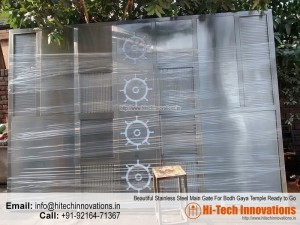 Stainless Steel Gate for Bodh Gaya Temple (HI-BGT-001)