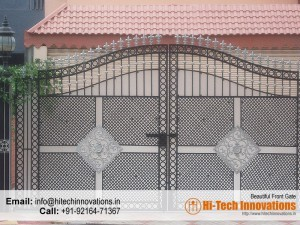 Beautiful Designer Steel Gate 00AY