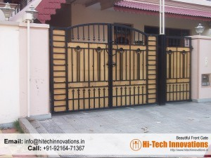 Beautiful Designer Steel Gate 00AZ