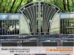 Steel Steel Gate and Railing 00XY
