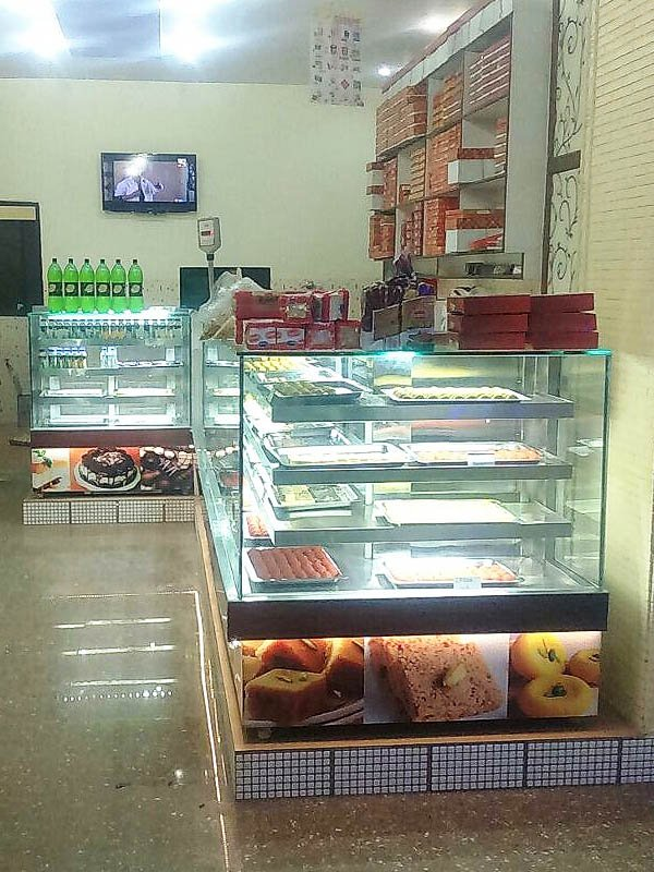 Stainless Steel Sweet Counter