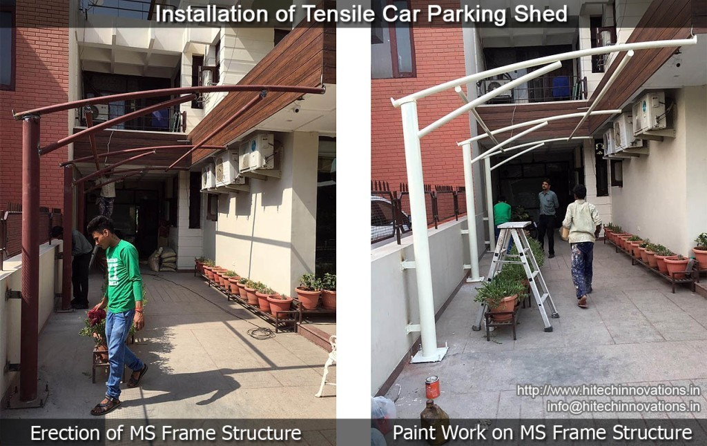 tensile-car-parking-shed-installation