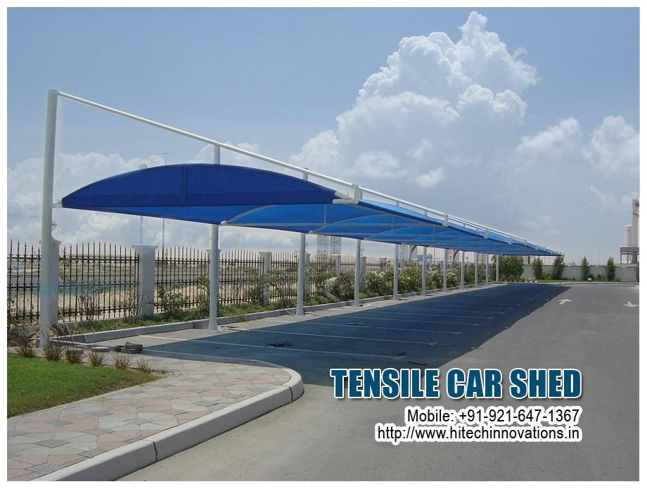 Tensile Car Shed