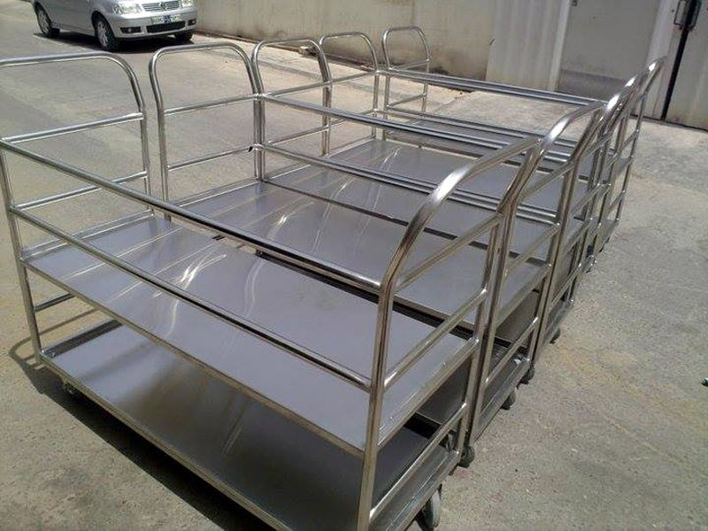Trolleys For Commercial Kitchen