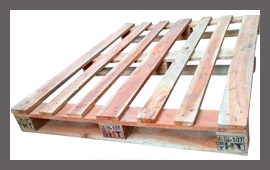 Heat Treated Wooden Pallet - Pic 2