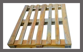 Heat Treated Wooden Pallet - Pic 1