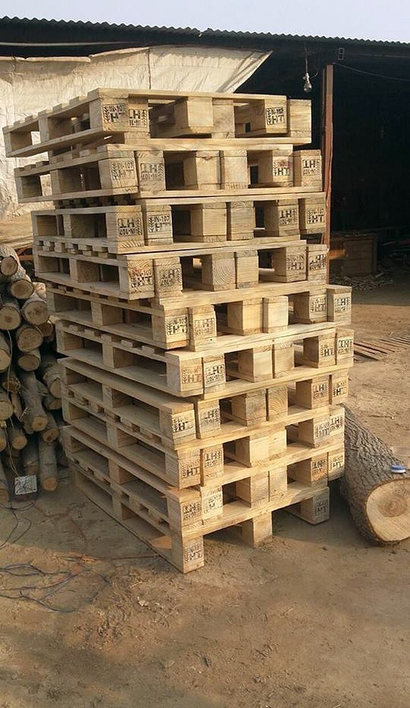 Wooden Pallets ready for Delivery