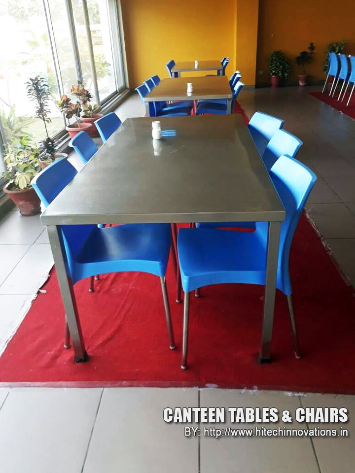 Canteen Tables with Chairs