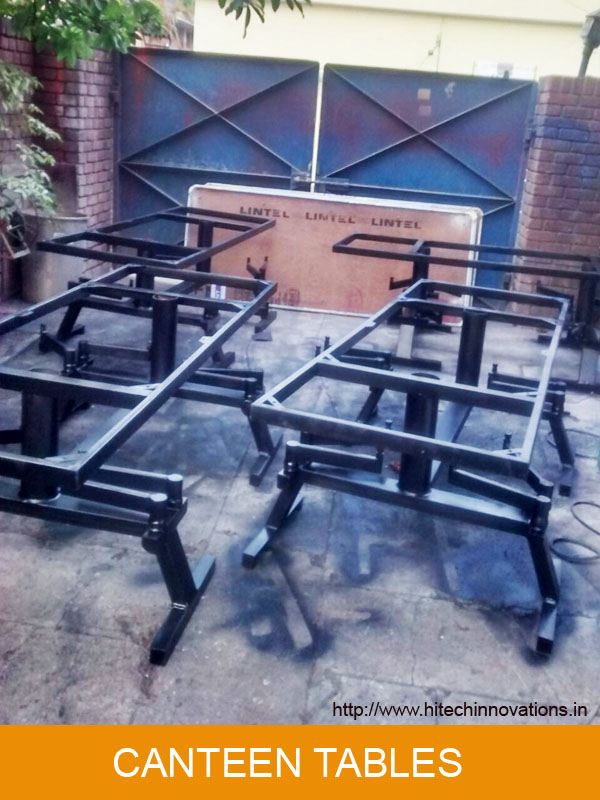 Canteen Table Being Manufactured at Hitech Innovations (Mohali)
