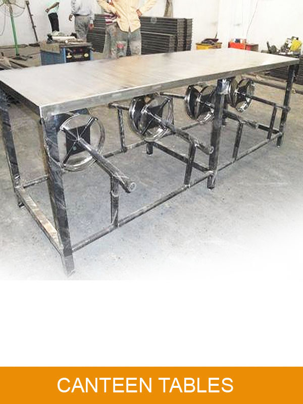 Canteen Table Ready for Dispatch to Client