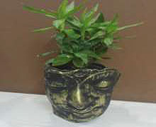 "Table Top Budha Planter (L:6.5"", H:7"", W:5.5"") INR @ 560"