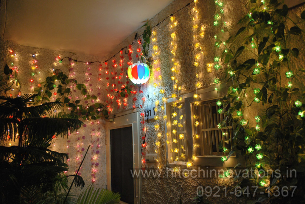 String Lights and Lamp Shade - HTI-002