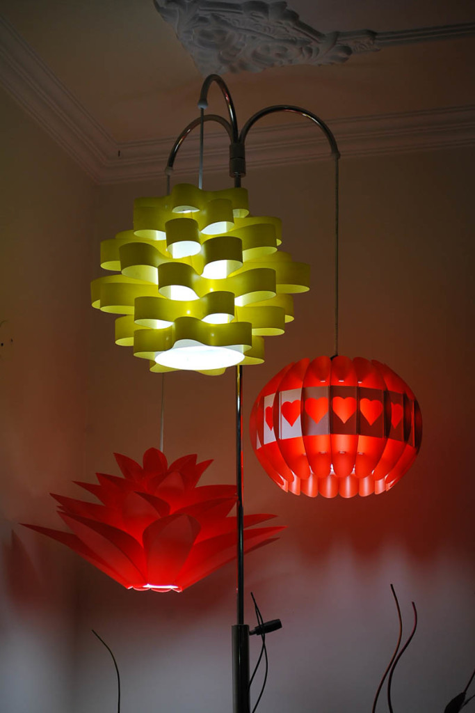Jigsaw Lamp Shade of Three - HTI-LAMP-003