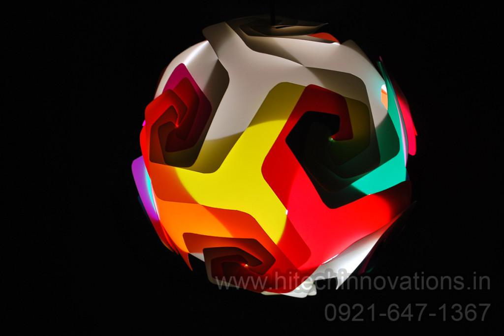 Jigsaw Lamp HTI-LAMP-008
