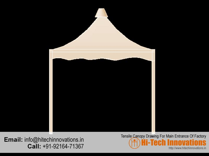 10ft-tensile-structure-canopy-elevation