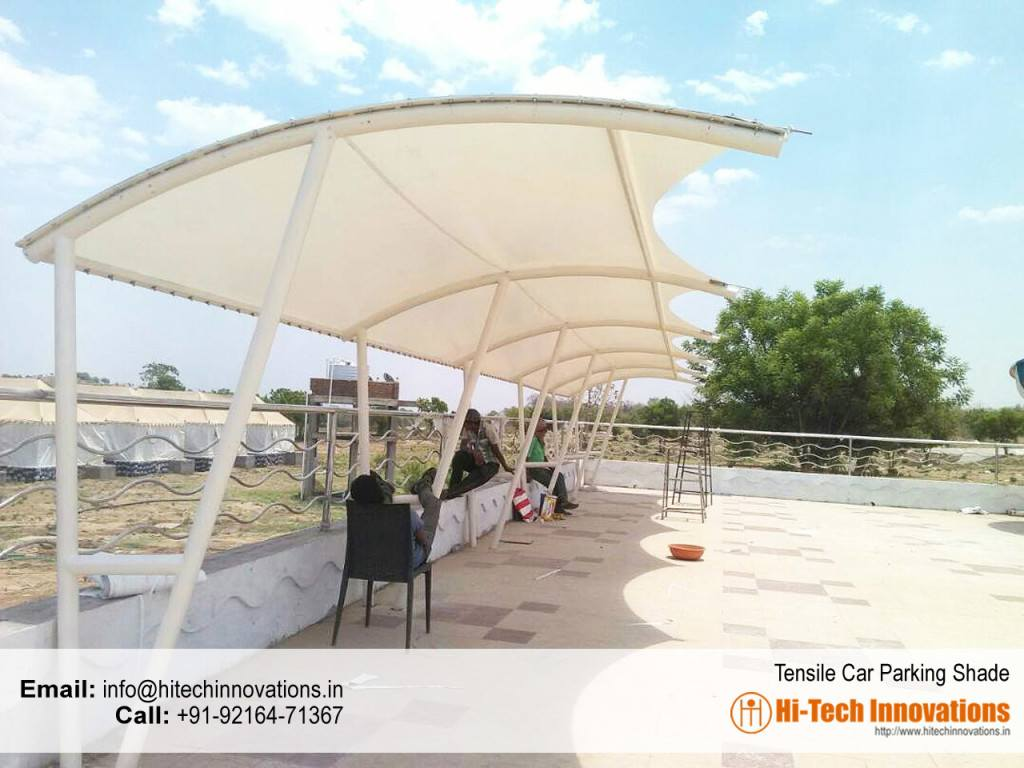 Tensile Car Parking Shade