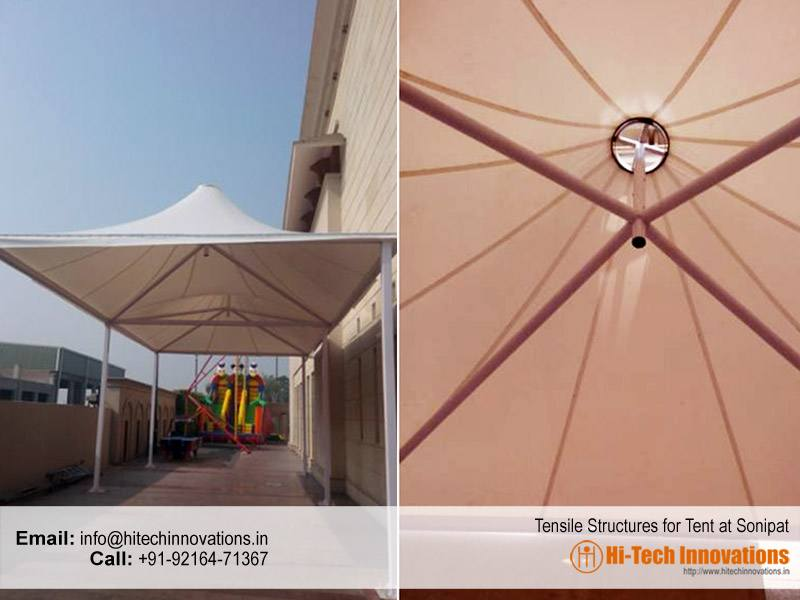 Tensile Structure Tent at Sonipat