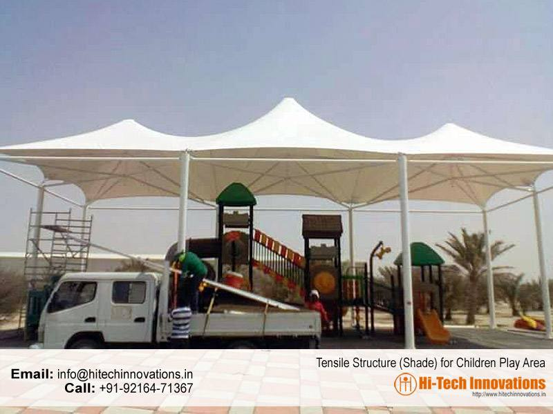 Tensile Structure for Children Play Area