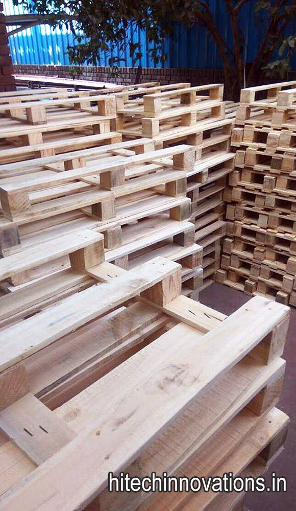 Wooden Pallets Stack