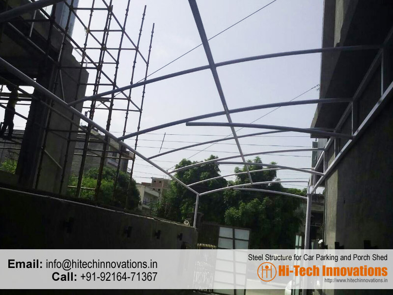 Steel Structure in Chandigarh | Mohali | Panchkula | Punjab | India