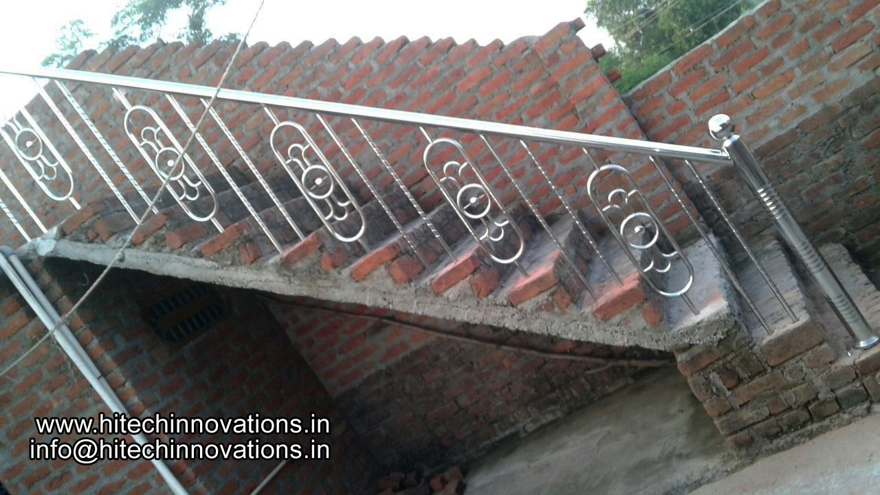Steel Railing for Stairs 07