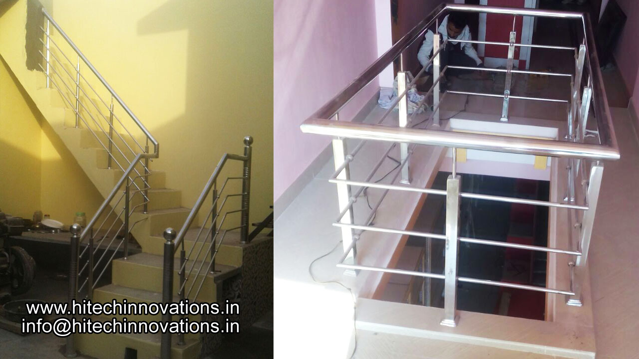 Steel Railing for Stairs 09